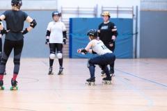 Volle Konzentration beim Rookie-Training (Foto: Thorsten Lasrich)