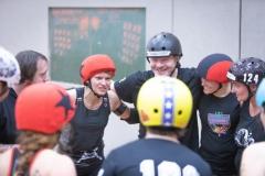 Eine kleine Team-Ansprache, bevor es los geht (Foto: Thorsten Lasrich)