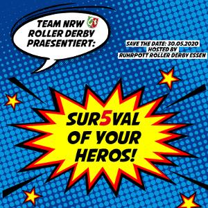 Team NRW präsentiert: Sur5val of your Heros! @ Wohnbau Hockey Arena