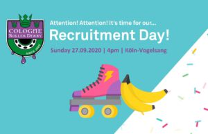 Recruitment Day 2020 - Cologne Roller Derby