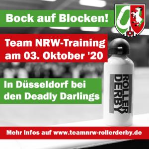 Team NRW-Training: Bock auf Blocken!