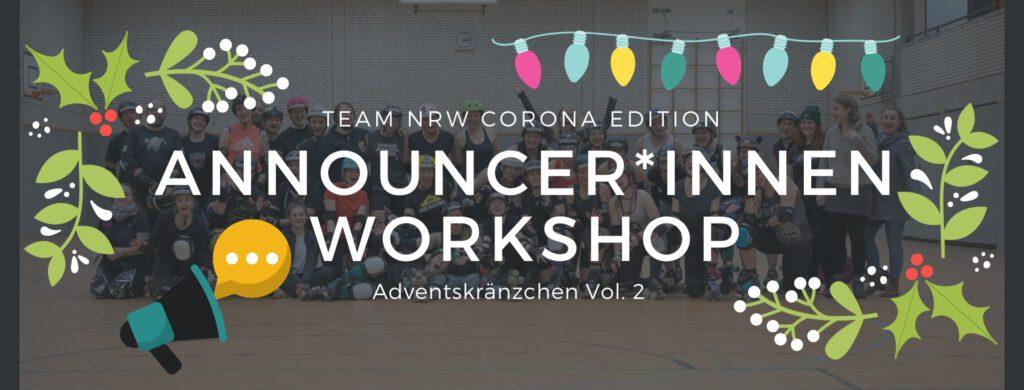 Announcerinnen Workshop